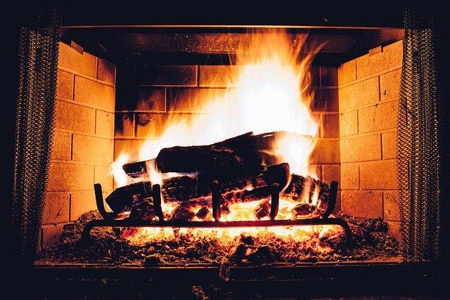 Roaring fireplace, Maryland-Washington, DC, Nelson Tree Specialist